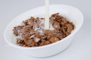 płatki z mlekiem